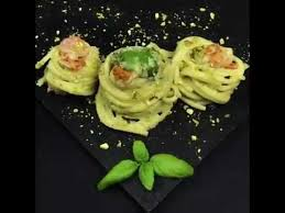 spaghetti pistacchio basilico